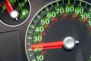 Speedometer Framed Prints - Speedometer Framed Print by Johnny Greig