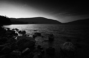 Mourne Prints - Spelga Dam Reservoir Mourne Mountains Ireland Print by Joe Fox