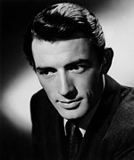 Films By Alfred Hitchcock Metal Prints - Spellbound, Gregory Peck, 1945 Metal Print by Everett