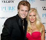 Spencer Photo Prints - Spencer Pratt, Heidi Montag Print by Everett