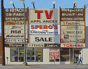 Sign Paintings - Spero by Michael Ward