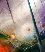 Sphere New Lights Print by Drazen Pavlovic