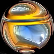 Sphere. Print by Tautvydas Davainis