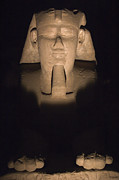 Scenic - Monuments - Sphinx at Karnak at Night by Darcy Michaelchuk