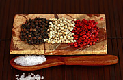 Peppercorns Posters - Spice It Up Poster by Inspired Nature Photography By Shelley Myke