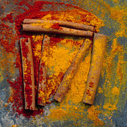 Bar Art Prints - Spices Print by Bernard Jaubert