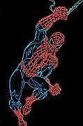 Spider Man Print by DB Artist