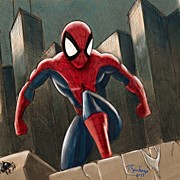 Best Sellers - Featured Art - Spider-man by Tony Santiago