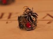 Ring Jewelry - Spider ring by Miki Proud