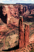 Spider Rock Framed Prints - Spider Rock 2 Framed Print by Thomas R Fletcher