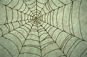 Extreme Digital Art - Spider Web Drawing by Barbara Chase