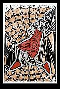 Printmaking Mixed Media - Spiderman by Christopher Williams