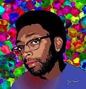 John Keaton Digital Art - Spike Lee by John Keaton