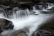 White River Scene Photos - Spillway Waterfall by John Stephens