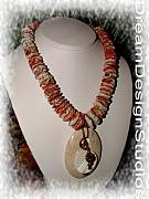 Mother Jewelry - Spiney Oyster  by Donna  Phitides