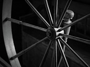Spinning Wheel Prints - Spinning Wheel Print by John Burnett