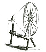 Spinning Wheel Prints - Spinning Wheel Print by Science Source