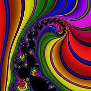 Spiral 121 Print by Rolf Bertram