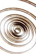 Circle Metal Prints - Spiral Metal Print by Bernard Jaubert