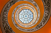 Vatican Photos - Spiral by Brian Bonham