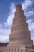 Iraq Prints - Spiral Minaret Print by Photo Researchers