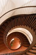 Shaker Photos - Spiral Staircase by Lone  Dakota Photography