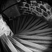 Tower Of London Photos - Spiraling Down by David Waldo