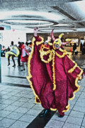 Puerto Rico Digital Art Originals - Spirit Dancer At SJ Airport by Frank Feliciano