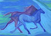 Plains Pastels Originals - Spirit Guide by jrr by First Star Art