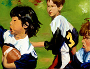 Football Paintings - Spirit by Marian Fortunati