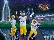 Sec Painting Posters - Spirit of Baton Rouge Poster by Hershel Kysar