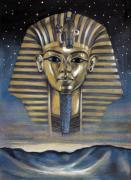 Ancient Pastels Prints - Spirit of Egypt Print by Stoyanka Ivanova