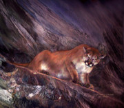 Giclee Mixed Media - Spirit Of Quiet Power by Carol Cavalaris