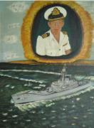 Royal Navy Paintings - Spirit of Swan by Neil Trapp