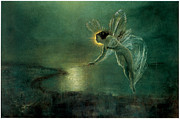 Moonlit Night Posters - Spirit of the Night Poster by John Atkinson Grimshaw