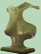 Female Form Sculptures - Spirit of Youth by Sarah Biondo