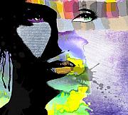 Woman Digital Art Posters - Spirit Poster by Ramneek Narang