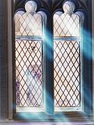 Medieval Mixed Media Posters - Spirit Window Poster by Roxy Riou