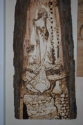 Spirit Pyrography - Spirit Women by Dominic Angarano