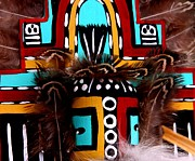 Kachina Posters - Spirit World Poster by Joe Kozlowski