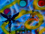 First Amendment Paintings - Spirit World by Tony B Conscious
