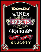 Wines Prints - Spirits Print by Kristin Elmquist