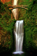 Columbia River Photos - Spiritual Falls by Scott Mahon