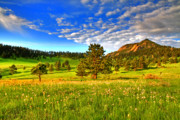 Boulder Framed Prints - Spiritual Sky Framed Print by Scott Mahon