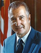 Greek Americans Framed Prints - Spiro Agnew 39th Vice President Framed Print by Everett