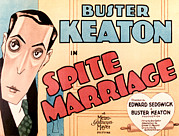 1929 Movies Framed Prints - Spite Marriage, Buster Keaton, 1929 Framed Print by Everett