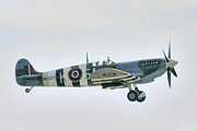 Spitfire Photos - Spitfire by Gerry Mann