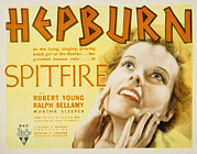 Spitfire Prints - Spitfire, Katharine Hepburn, 1934 Print by Everett