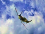 Camera Digital Art Originals - Spitfire MKII by Garry Staranchuk
