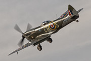 Spitfire Photos - Spitfire on Approach by Tim Croton